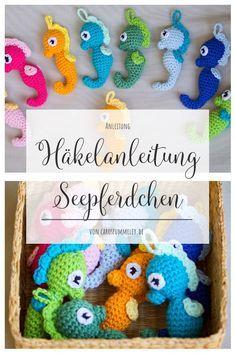 Amigurumi Seepferdchen häkeln – Caros FummeleyThanks corinnalender for this post.Are you looking for a cute and easy-to-crochet amigurumi pattern? Then you should definitely crochet these sweet Spitzenmuster und -mus# Amigurumi Amigurumi Free, Crochet Patterns Amigurumi, Amigurumi Doll, Knitting Patterns, Crochet Mouse, Crochet Bunny, Stitch Crochet, Easter Crochet Patterns, Crochet Dragon