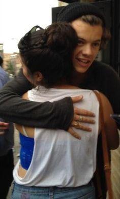#240 - Harry hugging a fan