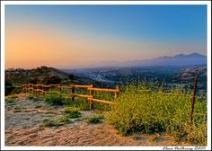 Along the Hiking Trail in Laguna Niguel, California