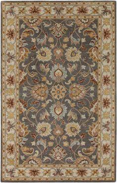 Blue oriental carpet