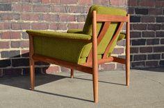 Greta Jalk for France and Son Danish Mid Century Modern Teak Cub Chair Vintage   eBay