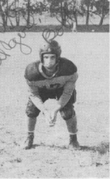 Bobby Crow #29, LE, 1948 Varsity Football Team, Leesburg High School, Leesburg, Florida