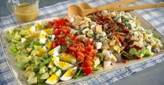Salad Recipes Healthy Diet, Salad Recipes Video, Salad Recipes For Dinner, Chicken Salad Recipes, Vegetarian Recipes, Whole 30 Brasil, California Salad, 21 Day Fix, Food For A Crowd