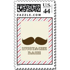 Moustache Party Stamps!!! OMG