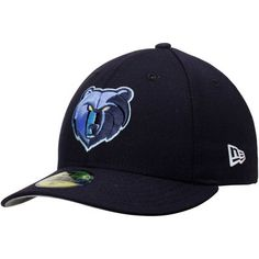 Memphis Grizzlies New Era Low Profile 59FIFTY Fitted Hat - Navy Memphis  Grizzlies 813732a7ca0