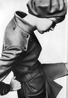 Twiggy Photographed By Just Jaeckin For Vogue UK, September 1967.