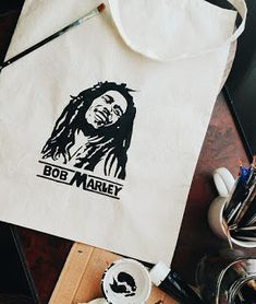 Artistic Sketches: Bob Marley (Clothbag)