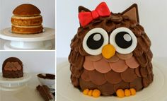 You'll love this easy 3D Owl Cake Recipe and we have included a video tutorial for you to follow along with. You are going to love the results!