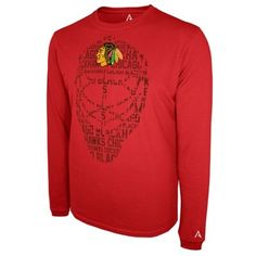 Alta Gracia (Fair Trade) Chicago Blackhawks Cotton Long Sleeve T-Shirt - Red