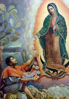 Milagro del Tepeyac [detail] by Jorge Gonzalez Camarena - 1947 - óleo sobre tela