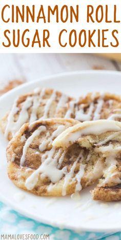 Cinnamon Roll Sugar loved these!   Cookies Recipe - How to Make Cinnamon Roll Cookies