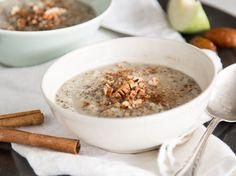 Löffel rein, glücklich sein! Cremiges Porridge mit Apfel und Zimt