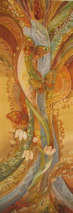 butterflies - Love Toschev - Batik (85 works)