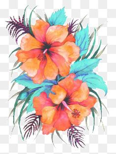 Oil Paintings of Tropical Flowers by Anna Keay Fine Art Maui Hawaii hibiscus Tropical Flowers, Hawaiian Flowers, Hibiscus Flowers, Large Flowers, Lilies Flowers, Tropical Art, Exotic Flowers, Flowers Garden, Purple Flowers