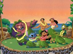 Omg didn't know there was Lilo and Stich 2 Lilo And Stitch Series, Lilo And Stitch 2002, Lilo E Stitch, Stitch Cartoon, Disney Fan Art, Disney Fun, Disney Animated Movies, Cartoon Movies, Mickey And Friends