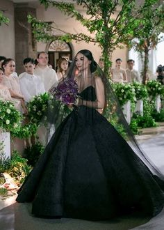 wedding dress black 23 Romantic and Stylish Black Wedding Dresses! Wedding Dress Black, White Wedding Dresses, Unique Wedding Gowns, Wedding Outfits, Bridesmaid Dresses, Gothic Wedding, Dream Wedding, Geek Wedding, Medieval Wedding