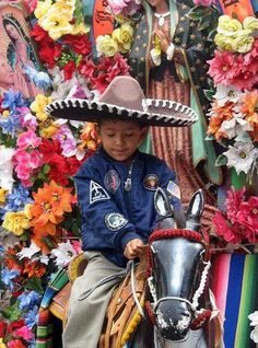 Child at Basilica de Guadalupe, Mexico City