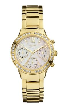 92551LPGSDA1 Relógio Feminino Dourado Guess   Guest Club