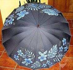 Ručne maľované dáždniky | microjob.sk