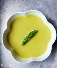 Creamy Asparagus Soup on SimplyRecipes.com