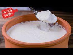 Yoğurt Nasıl Mayalanır- Taş Gibi Tam Kıvamında Yoğurt Yapımı- Ev Lezzetleri - YouTube