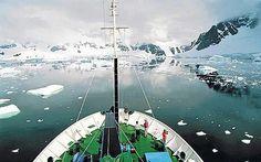 I wanna take a cruise to the Antarctica.