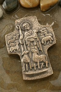 Good Shepherd Bronze Cross I am the Good Shepherd. I give my life for my sheep. I know my sheep, and my sheep know me. I have come that they might have life, and have it in abundance. Good Shepherds a
