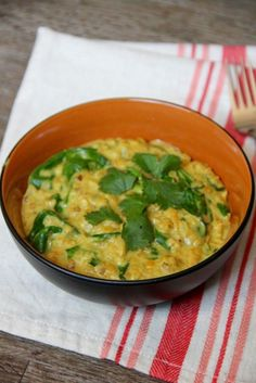 Lentil Spinach Coconut Curry- Emma's Little Kitchen