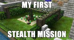 First Stealth Mission #OcraniaofTime #LegendofZelda via Reddit user atr_nad