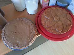 Schokokuchen mit Schokobuttercreme Von Ramona Probst Pudding, Cookies, Desserts, Food, Germany, Bakken, Crack Crackers, Tailgate Desserts, Deserts