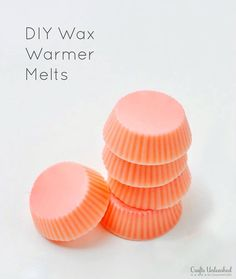 If you're a regular user of wax warmers, you will love this inexpensive DIY project! Follow along to learn how to make wax melts with candy molds!
