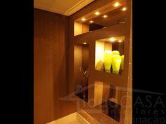 design hall de entrada apartamento - Pesquisa Google Entrance Design, Bathroom Lighting, Mirror, Furniture, Home Decor, Pendant Chandelier, Elevator Lobby, Transitional Chandeliers, Arquitetura