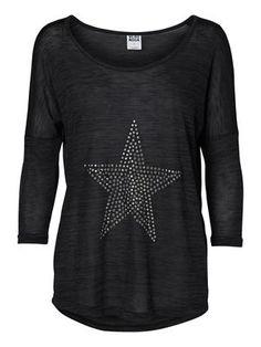 SABI 3/4 TOP STAR  #studs #star #shirt #veromoda @Veronica MODA