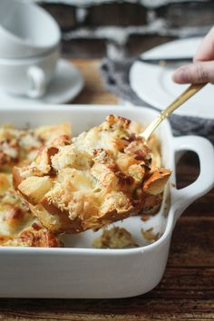 Easy Cheesy Overnight Italian Strata