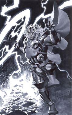 Modern Thor by ChristopherStevens.deviantart.com on @deviantART