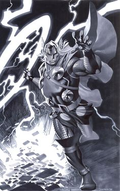 Modern Thor by ChristopherStevens.deviantart.com on @deviantART