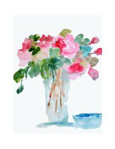 #watercolor #flowers