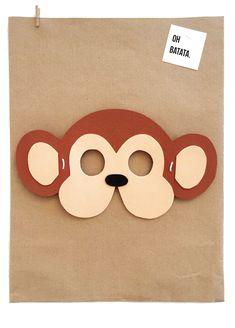 Animal Masks, Animal Heads, Zebra Mask, Dog Mask, Crochet Mask, Craft Stalls, Jungle Party, White Elephant, Cute Dolls