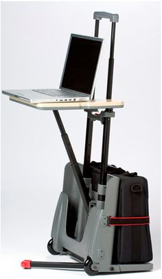 We have nicely DIY Portable Office Organization Hacks Ideas that you will make your work routine better and easier Portable Workstation, Portable Desk, Diy Computer Desk, Computer Bags, Home Office Inspiration, Office Ideas, Room Inspiration, Kids Luggage, Mobile Office