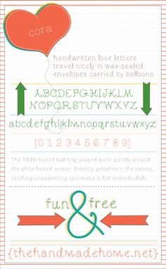 Amazing Free Fonts from the Font Snob!!!