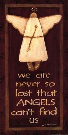 We Are Never So Lost Art Print by Jo Moulton