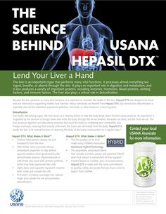 Hepasil DTX™ Comprehensive liver-support formula featuring the InCelligence™ Detox-Support Complex Health And Wellness, Health Care, Health Fitness, Wellness Industry, True Health, Nutritional Supplements, Metabolism, Healthy Living, Science
