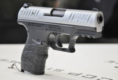 Walther CCP Concealed Carry Pistol (Germany) Trigger type Precocked striker Caliber 9x19 Weight, empty, g 633 Length, mm 163 Barrel length, mm 90 Capacity, rounds 8