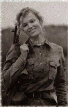 A Yugoslav partisan fighter in World War II