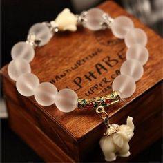 Natural Elephant Bracelet