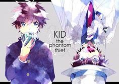 police x kaito kid - Google Search