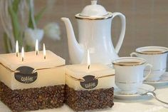 A LOT of us would love this one! How to Make a Coffee Candle