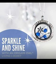 Origami owl winter living locket