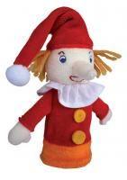 #422 Fingerpuppe Kasperl Smurfs, Character, Shopping, Hand Puppets, Lettering