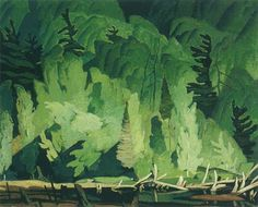 A. J. Casson, one of the Group of Seven  -   Summer Hillside